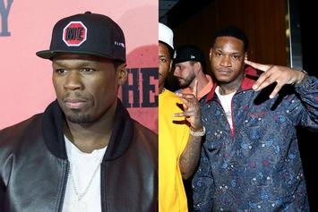 50 Cent Connects With Slim 400 After Both Were Shot 9 Times