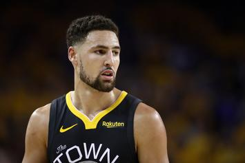 Klay Thompson Flexes Private Jet Prior To His Vacation: Watch