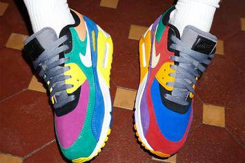 "Nike Air Max 90 ""Viotech"" To Drop In OG Color Scheme: Release Details"