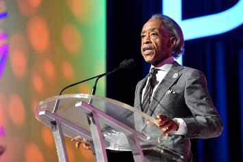 """Al Sharpton Claps Back At """"Thin Skinned"""" Trump: """"He's Like A Child"""""""