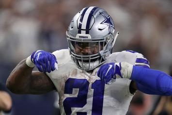Cowboys & Ezekiel Elliott Sued For Allegedly Conspiring With Police Over Crash