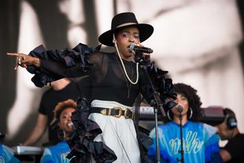 Lauryn Hill Apologizes To Festival Fans After Arriving Late & Performing Short Set