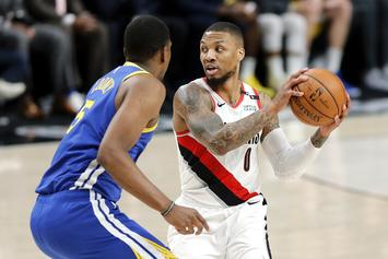"Damian Lillard Excitedly Freestyles To Lil Nas X's ""Old Town Road:"" Watch"