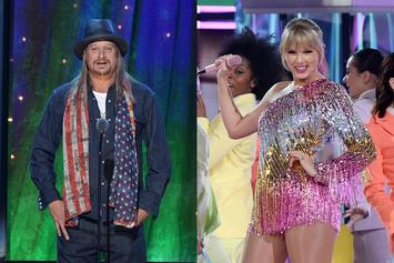Kid Rock Takes Blowjob Jab At Taylor Swift Because She's A Democrat