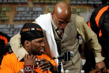 "Floyd Mayweather Explains ""The End"" Of 50 Cent's Rap Career In 4 Crucial Points"