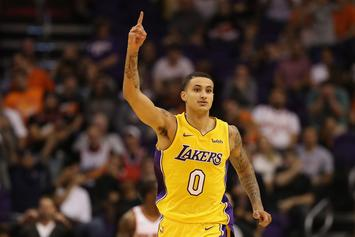"""Kyle Kuzma Believes He Is """"Capable"""" Of Being The Lakers' Third Star"""