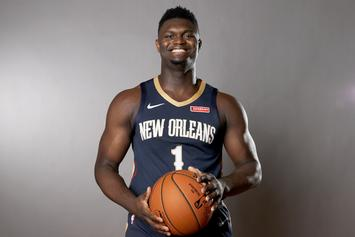 Zion Williamson Teases Pelicans Fans With Scintillating Dunk: Watch