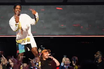 A$AP Rocky Returns To The Stage With New Song & Tyler, The Creator