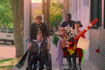 "Murda Beatz, Lil Pump & Sheck Wes Buy A Baby In ""Shopping Spree"" Video"
