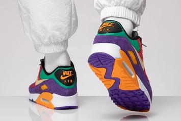 """Nike Air Max 90 """"Viotech"""" Coming Soon: On-Foot Images"""