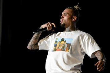 """Chris Brown Channels Michael Jackson In New """"INDIGOAT"""" Tour Photos"""