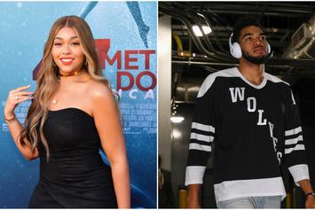 Jordyn Woods & Karl Anthony Towns Spotted Out Together