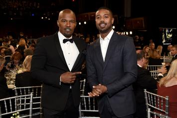 "Jamie Foxx, Michael B Jordan & Brie Larson To Star In Upcoming Drama ""Just Mercy"""