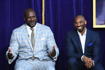 "Kobe Bryant Shades Shaq For His ""Lazy Ass"" Work Ethic: Watch"