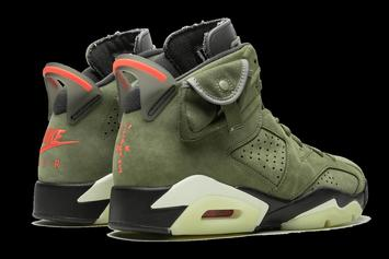 Travis Scott x Air Jordan 6 Beauty Shots Revealed: Release Details