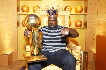 "Shaq Reminds Everyone How ""Lazy"" He Was With Epic Throwback Photo"