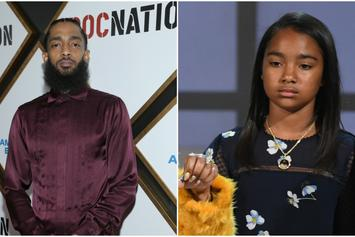 Nipsey Hussle's Daughter Making Excellent Progress In Grief Counseling: Report