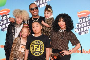 Tiny & T.I. Debate Over Who Their Daughter Resembles Most