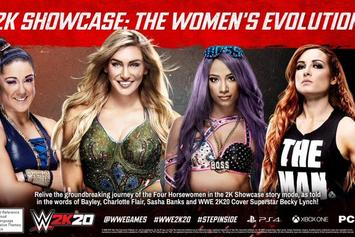 WWE 2K20 Showcase Mode Details Revealed: Teaser Trailer