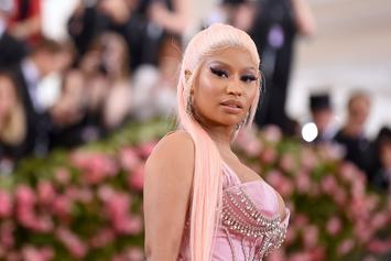 Nicki Minaj's Fiancé Under Fire For Flashing Gun With Extended Clip On Her IG Live
