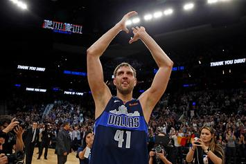 Dallas Mavericks New Court Will Reportedly Feature Images Of Dirk Nowitzki