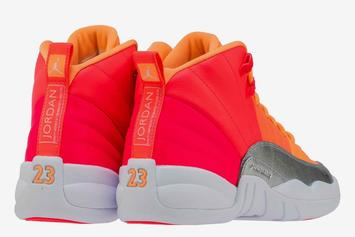Air Jordan 12 Set To Release In An Exotic Sunburst Colorway: First Look