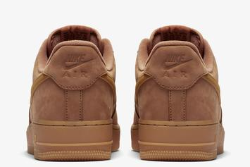 """Nike Air Force 1 Low """"Wheat"""" Returns For The Fall: Official Images"""