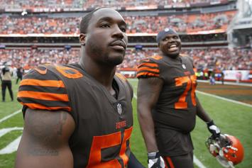 Cleveland Browns Mourn Death Of Defensive End Chris Smith's GF