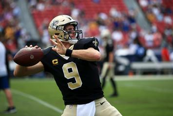 Drew Brees To See Specialist Following Injury In Saints' Loss To the Rams