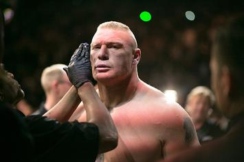 Brock Lesnar Granted WWE Title Shot For SmackDown's Debut On Fox