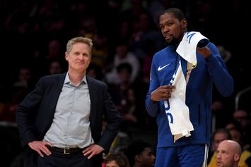 Stephen A. Smith Offers New Details On KD & Steve Kerr's Relationship