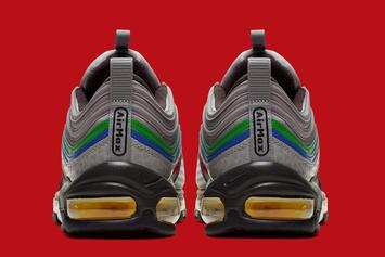 """Nike Air Max 97 """"Nintendo 64"""" Release Date Revealed: Official Images"""
