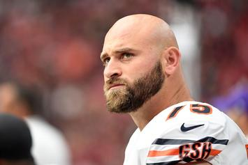Bears Guard Kyle Long Accidentally Gets Fully Naked On IG Live, Fans React
