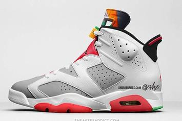 "Air Jordan 6 ""Hare"" Pays Homage To A Classic Colorway: Release Details"