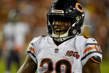 Tarik Cohen & The Bears React To Exposing Kyle Long On IG Live