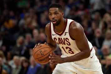Tristan Thompson Gets Clowned For Flirting In Khloe Kardashian's Comment Section