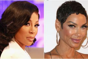 "K. Michelle Drags Nicole Murphy For Antoine Fuqua Kiss: ""You're Disgusting"""