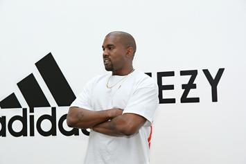 Kanye West Flexes His Bizarre Yeezy Foam Runner's For The First Time