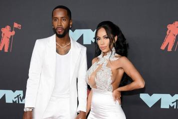 Safaree & Erica Mena Share Topless Pregnancy Photo
