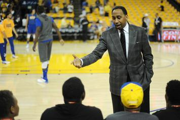 Stephen A. Smith Details His Convo With Drake At The NBA Finals: Watch