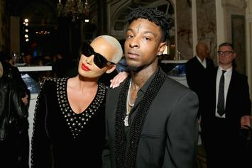 Is 21 Savage's New Verse About Amber Rose?