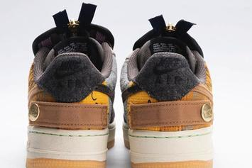Travis Scott x Nike Air Force 1 Low Shown Off In Full Detail: Watch