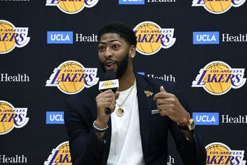 Anthony Davis Goes Off In Laker Debut