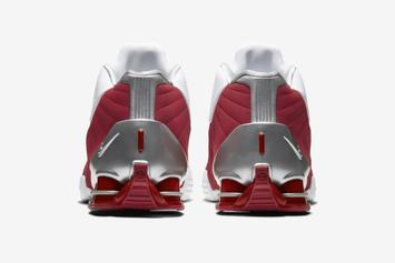 """Vince Carter's Nike Shox BB4 Releasing In """"White/Varsity Red"""" Colorway"""