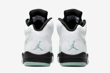 "Air Jordan 5 ""Island Green"" Coming Soon: Official Images Revealed"