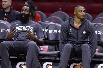 Harden, Westbrook Denied Chance To Answer Questions About China: Video