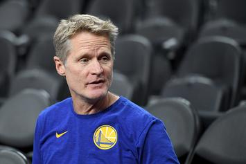 "Warriors' Steve Kerr Issues Response To President Trump's ""Little Boy"" Diss"