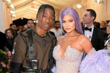 """Kylie Jenner Is Spending More Time With Travis Scott; Has Made """"Rise & Shine"""" Merch"""