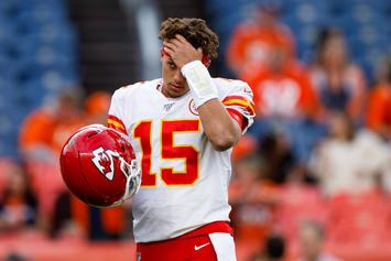 Patrick Mahomes MRI Results Unveiled Following TNF Knee Injury