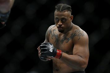 Greg Hardy's Controversial UFC Win Overturned By His Illegal Inhaler
